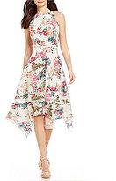 Antonio Melani Jayden Printed Silk Dress
