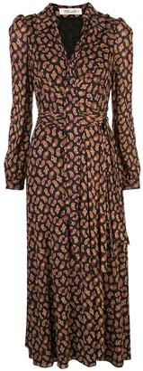 Dvf Diane Von Furstenberg Paisley Print Wrap Dress