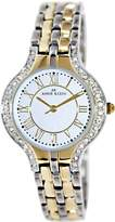Anne Klein Women's 10-9671SVTT Stainless-Steel Quartz Watch