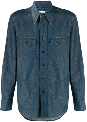 Lemaire Button-Up Western Shirt