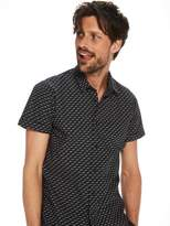Scotch & Soda Printed Short Sleeved Shirt | Regular fit