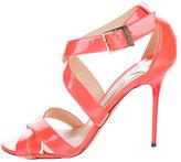 Jimmy Choo Patent Leather Lottie Sandals