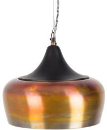 The Forest & Co. - Bell Pendant Lights - Black - Black/Brown/White