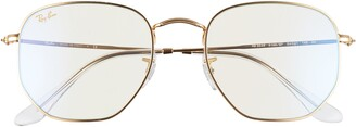 Ray-Ban 54mm Round Optical Glasses