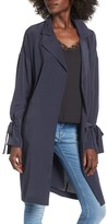 Lush Women's Tie Sleeve Jacket