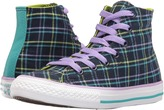 Converse Chuck Taylor® All Star® Plaid Hi (Little Kid/Big Kid)