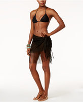 Dotti Delight Crochet Fringe Sarong Cover-Up