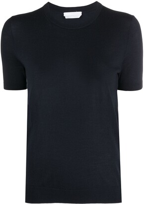 HUGO BOSS Crew Neck Knitted Top