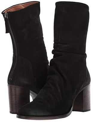 Free People Elle Block Heel Boot (Black) Women's Pull-on Boots