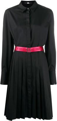 Karl Lagerfeld Paris Belted Shirt Dress