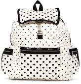 Le Sport Sac Nylon 3-Zip Voyager Backpack