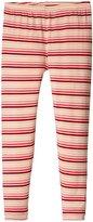 Kickee Pants Print Leggings (Toddler) - Girl Forest Stripe - 2T