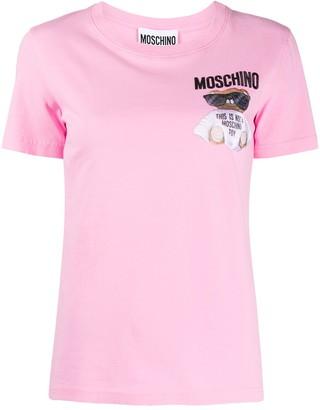 Moschino Micro Teddy Bear slim-fit T-shirt
