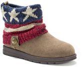 Muk Luks American Flag Patti Women's Ankle Boots