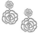 Kate Spade Faux-Crystal Rose Drop Earrings