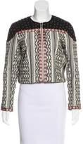 Tularosa Embroidered Cropped Jacket