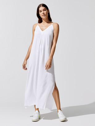 NSF Antonia Side Slit Maxi Dress