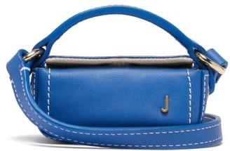 Jacquemus Nani Leather Cross-body Bag - Womens - Blue