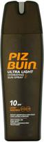 Piz Buin Ultra Light Hydrating Sun Spray - Low SPF10 200ml