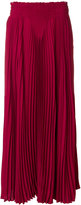 Valentino full pleated skirt