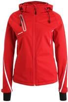 Erima Soft shell jacket red/white