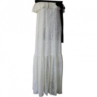 Jucca White Cotton Dresses