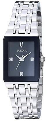Bulova Quadra - 96P202 (Steel) Watches