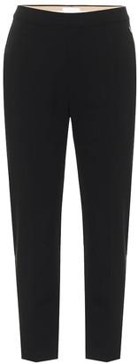 Chloé Mid-rise slim stretch-wool pants