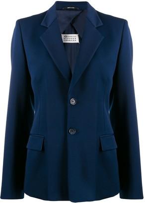 Maison Margiela fitted button blazer