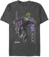 Fifth Sun Men's Tee Shirts CHARCOAL - Charcoal Hulk Motion Crewneck Tee - Men