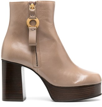 See by Chloe Side-Zip Ankle Boots