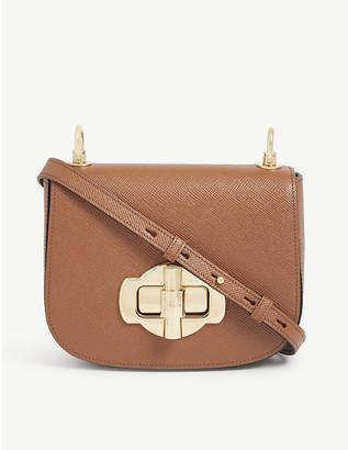 Prada Twist lock leather cross-body bag