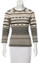 Jean Paul Gaultier Alpaca & Virgin Wool-Blend Sweater