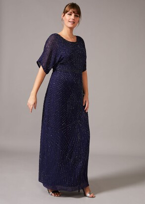 Phase Eight Donnatella Beaded Maxi Dress