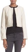 Veda Women's 'Dale' Crop Leather Jacket