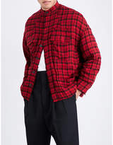 Haider Ackermann Checked flannel jacket