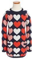 Tucker Girl's + Tate Cotton & Cashmere Dress