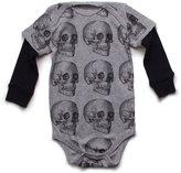 Nununu Infant MD Skull Onesie