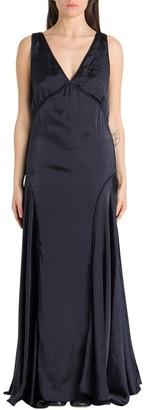 Jil Sander Long Satin Dress