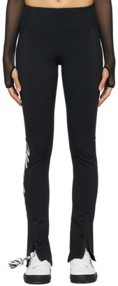 Off-White Black Athleisure Split Leggings
