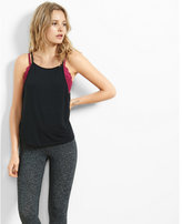 Express one eleven scoop back cami