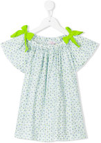 Il Gufo floral print top - kids - Cotton/Spandex/Elastane - 8 yrs