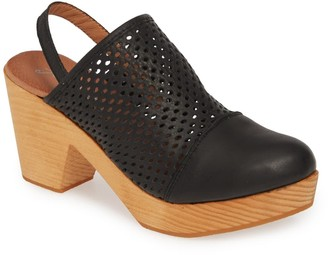 Free People Logan Leather Clog