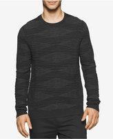 Calvin Klein Men's Plaited Crew Neck Sweater