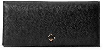 Kate Spade Polly Bi-Fold Continental Leather Wallet