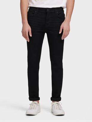 DKNY Women's Hudson Skinny Fit Jean - Black - Size 32x32