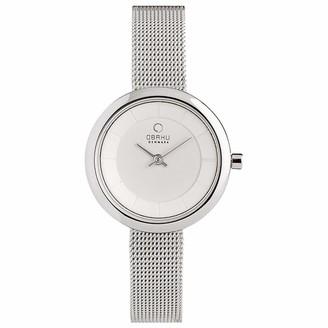 Obaku Denmark - Stille Steel Stainless Steel Analog Quartz Watch 3 ATM (V146LXCIMC)