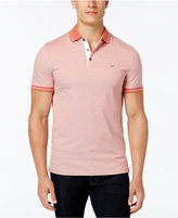 Michael Kors Men's Tipped Birds Eye Polo