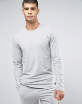 Calvin Klein One Cotton Long Sleeve Lounge Top