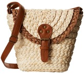San Diego Hat Company BSB1360 Woven Straw Crossbody Bag w/ Adjustable Strap